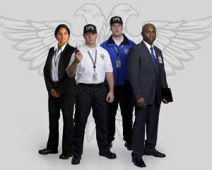 Uniformed EPS guards